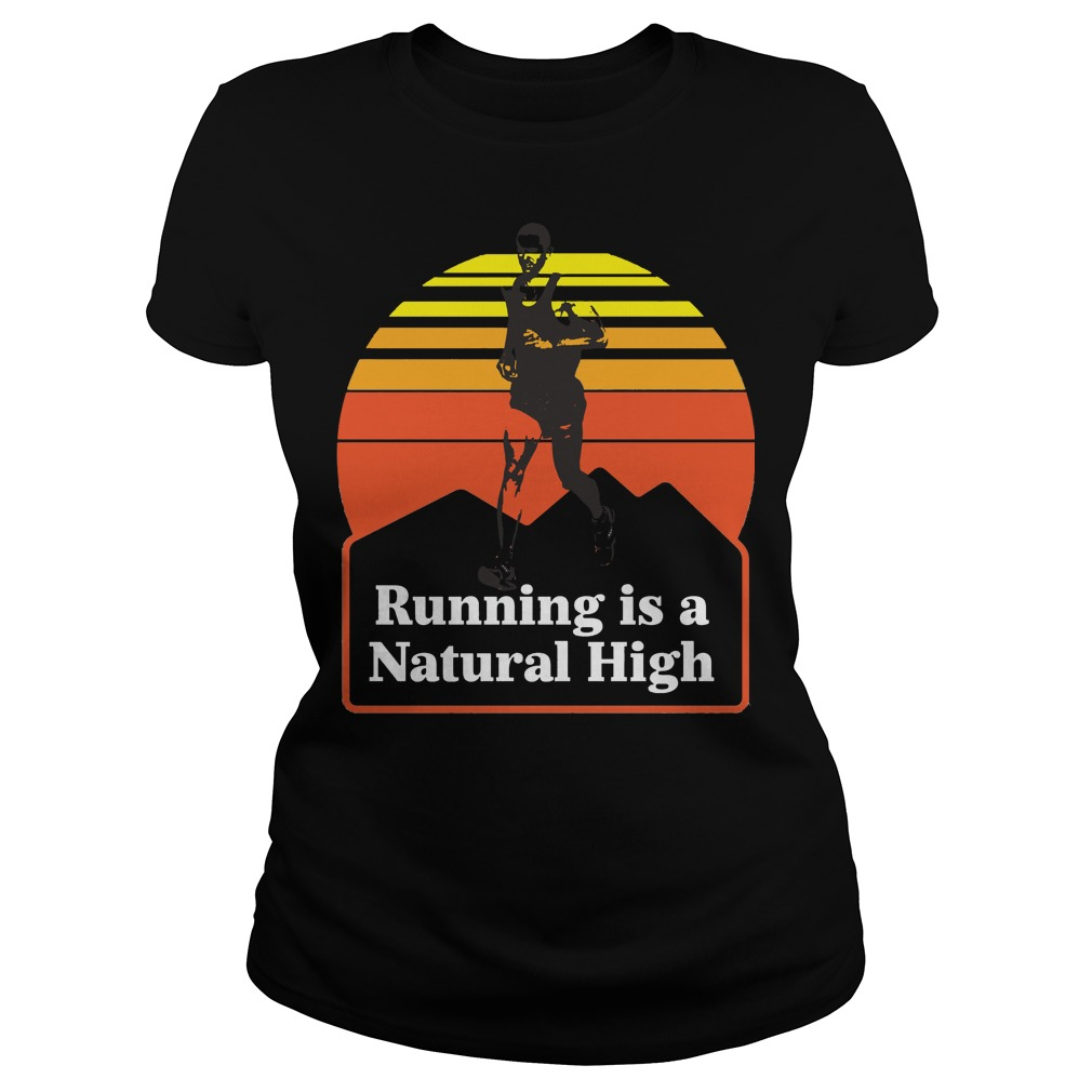 Running is a natural high