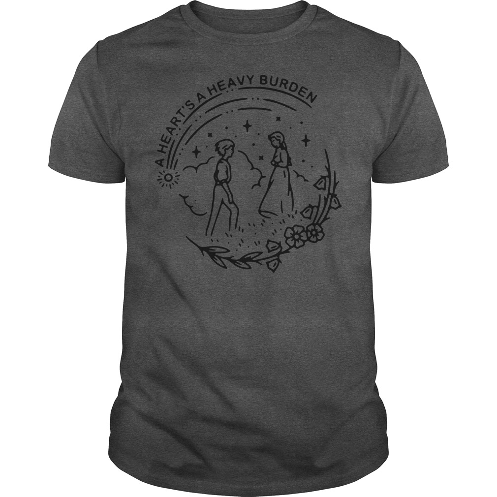 Howl and Sophie a heart's a heavy burden shirt