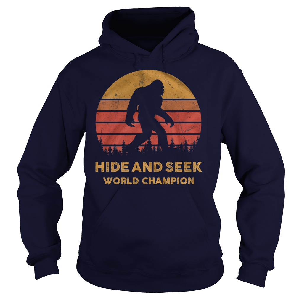 Hide and seek world champion Hoodie