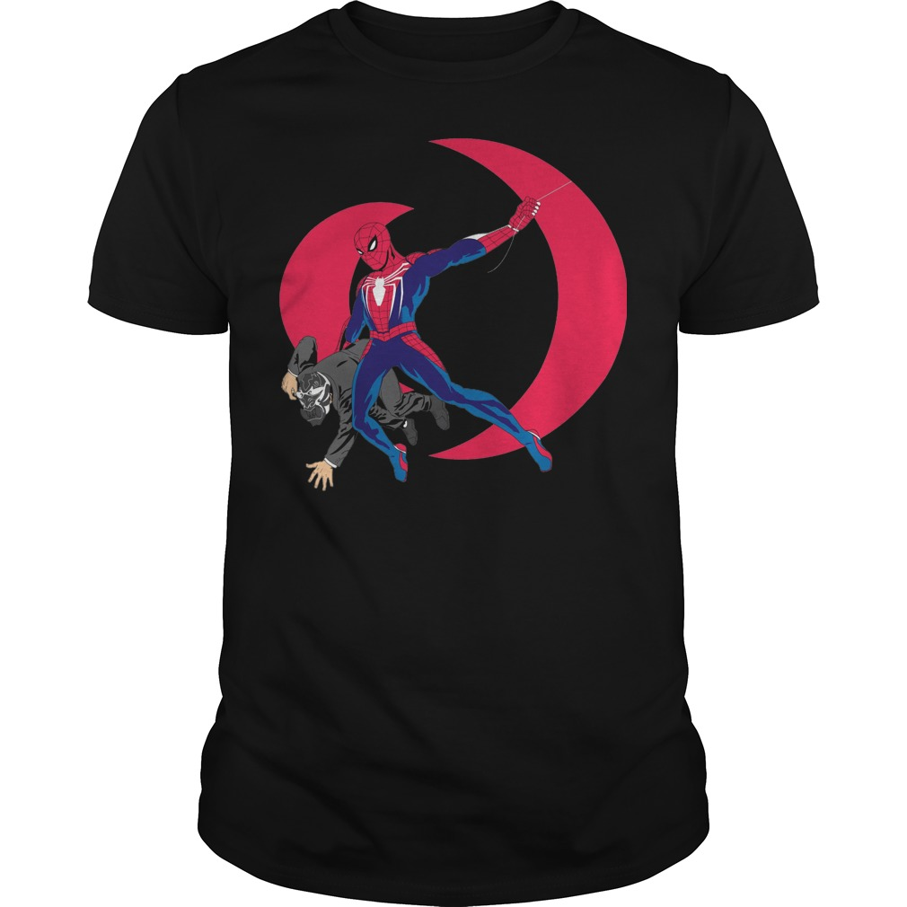 Spider man insomniac fantasy Guys t-shirt