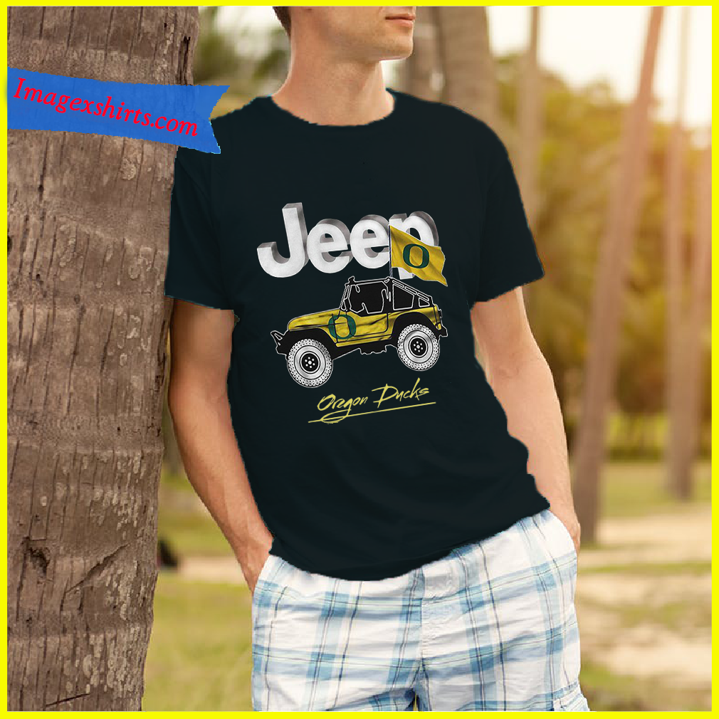 Jeep Oregon Ducks shirt