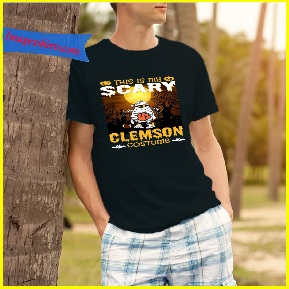 Murray this is my scary Clemson costume shirt
