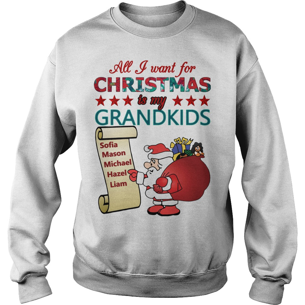 All I want for christmas is my grandkids Sweater