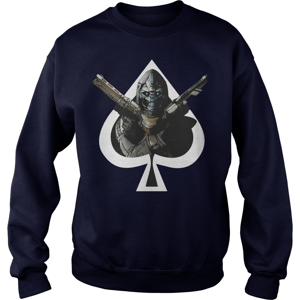 Destiny Cayde hearts Sweater