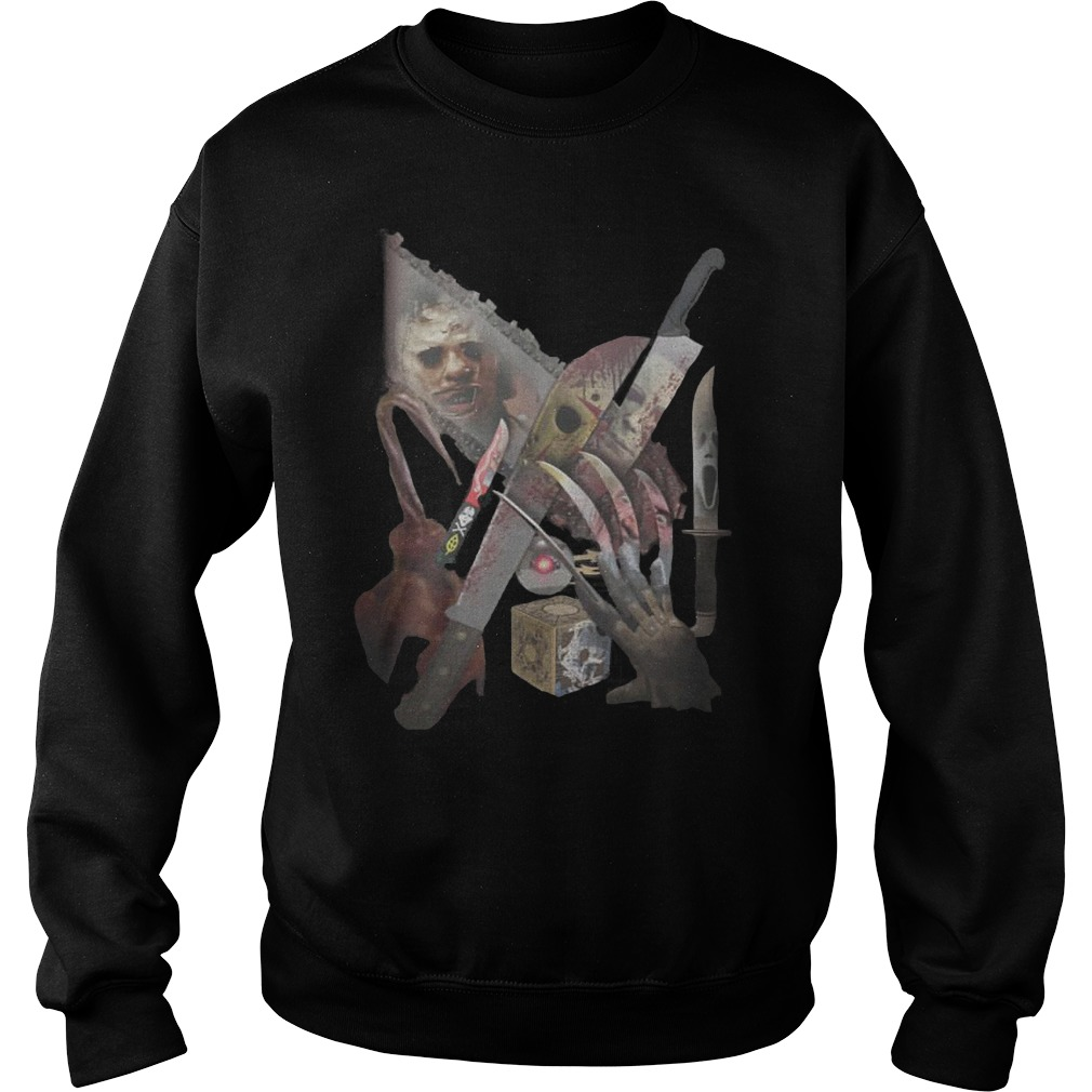 Horror movies weapon Sweater