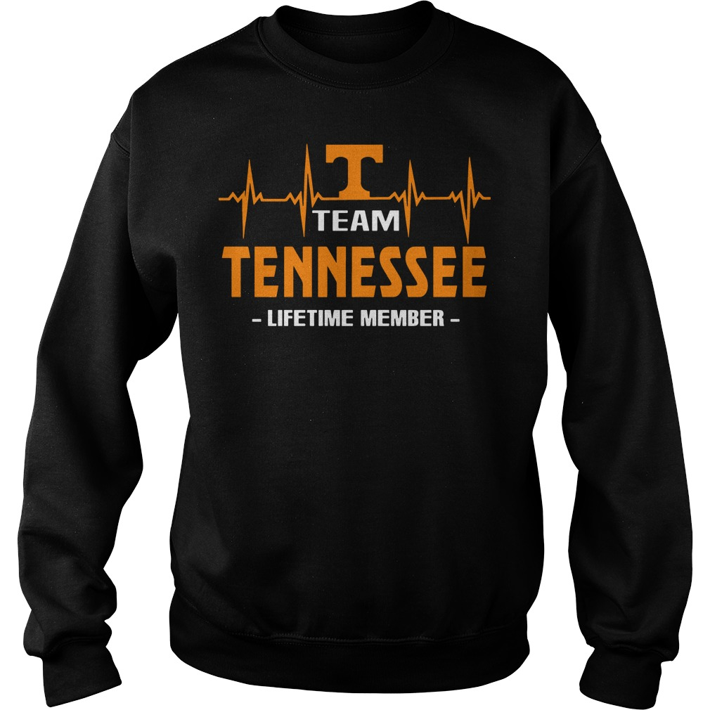 I team tennesse lifetime member Sweater