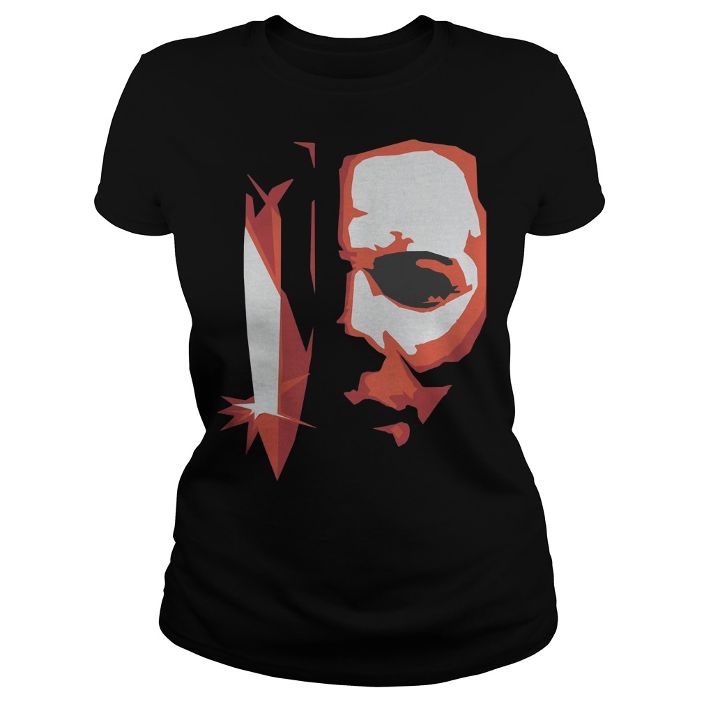Michael Myers horror Halloween Ladies t-shirt