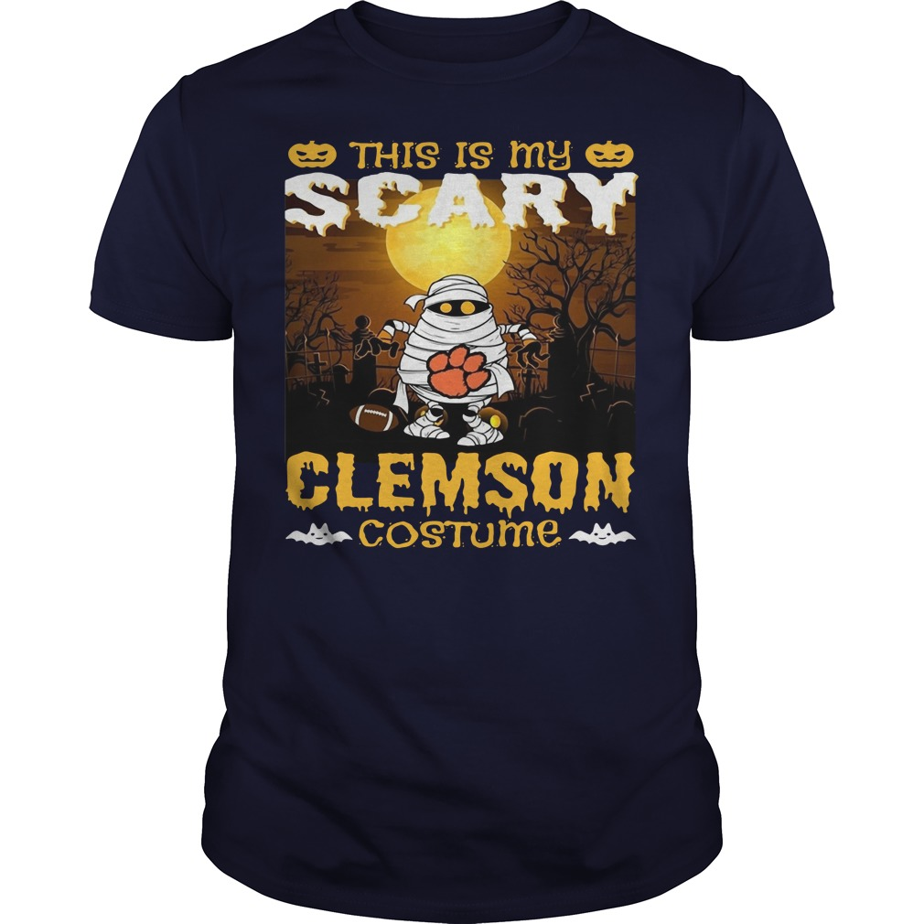 Murray this is my scary Clemson costume Guys t-shirt