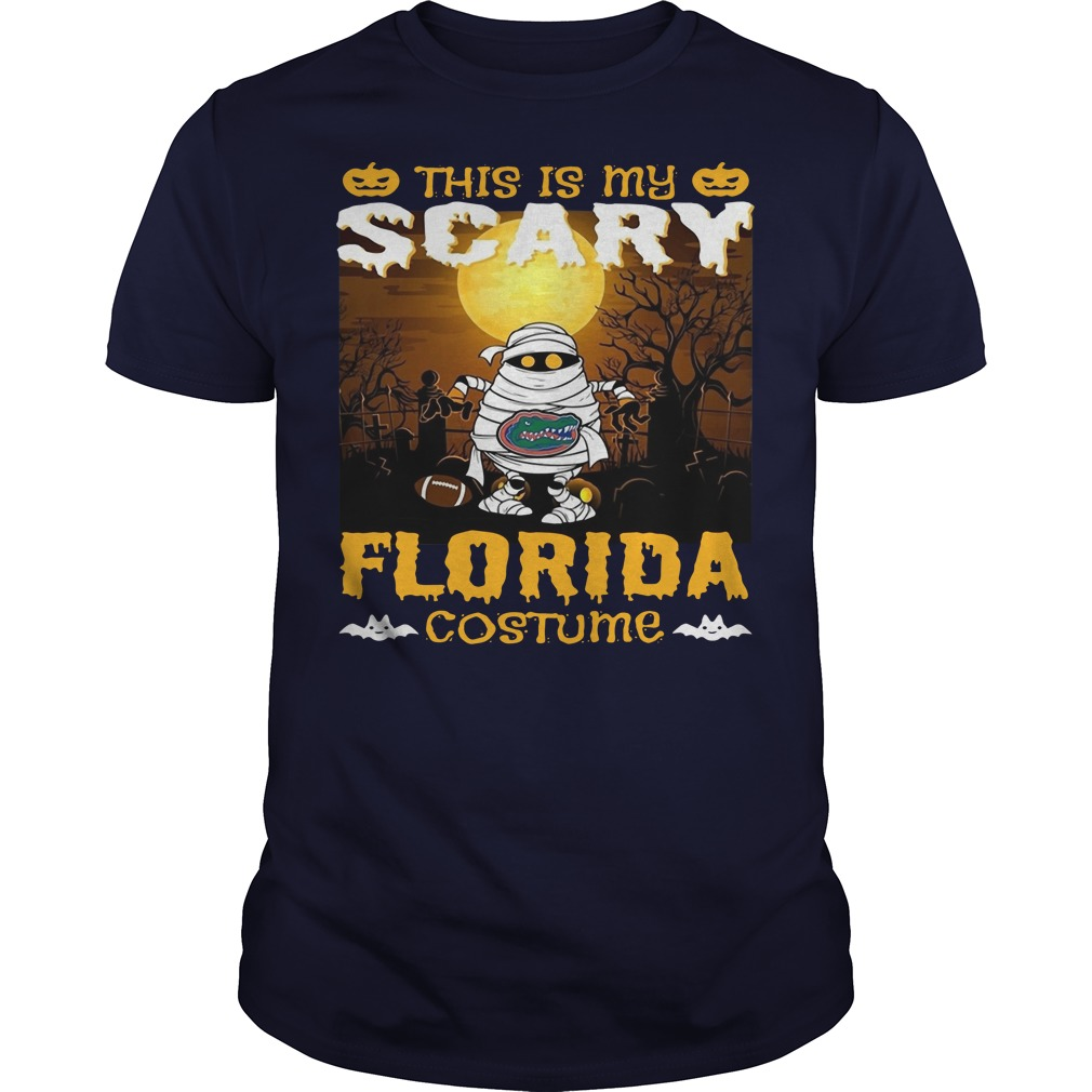 Murray this is my scary Florida costume Guys t-shirt