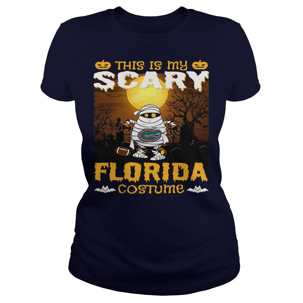Murray this is my scary Florida costume Ladies t-shirt