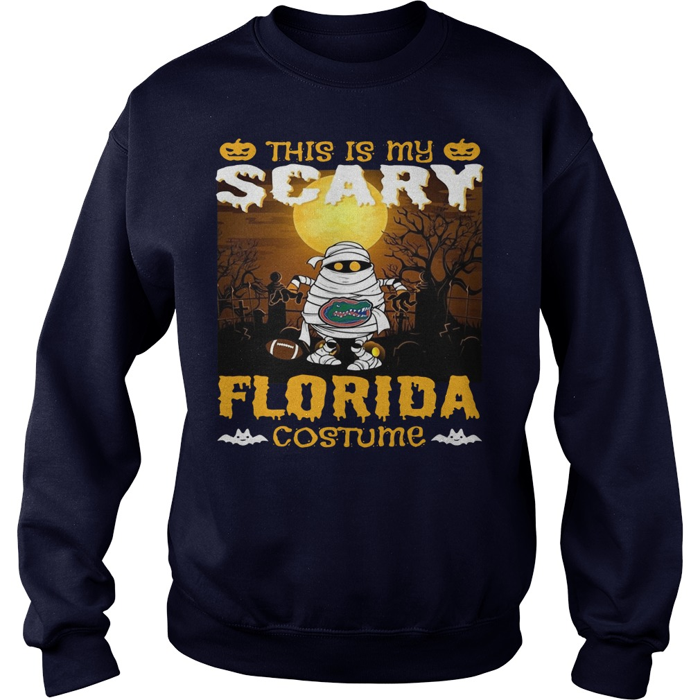 Murray this is my scary Florida costume Sweater