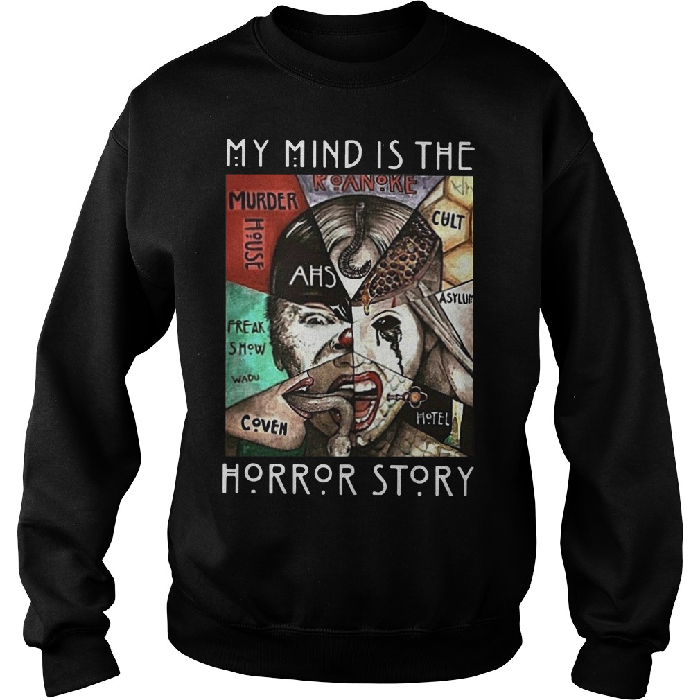 My mind is the horror story Sweater