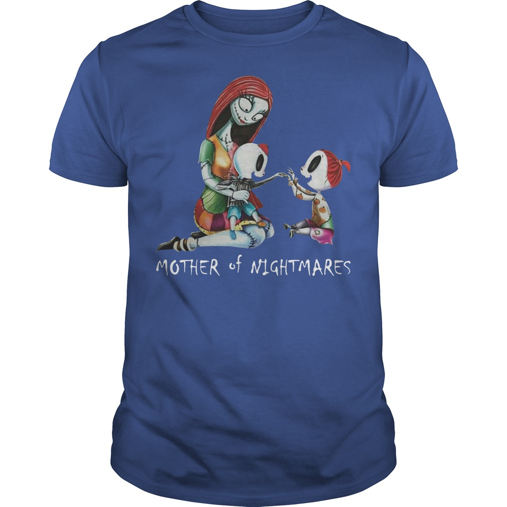 The nightmare before christmas mother of nightmare shirt