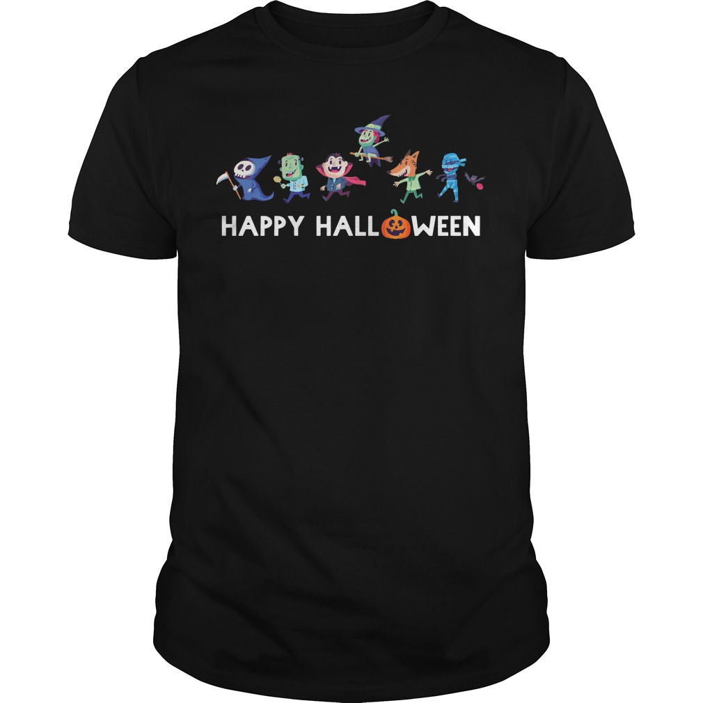 Trick or Treat Gang happy halloween Guys t-shirt