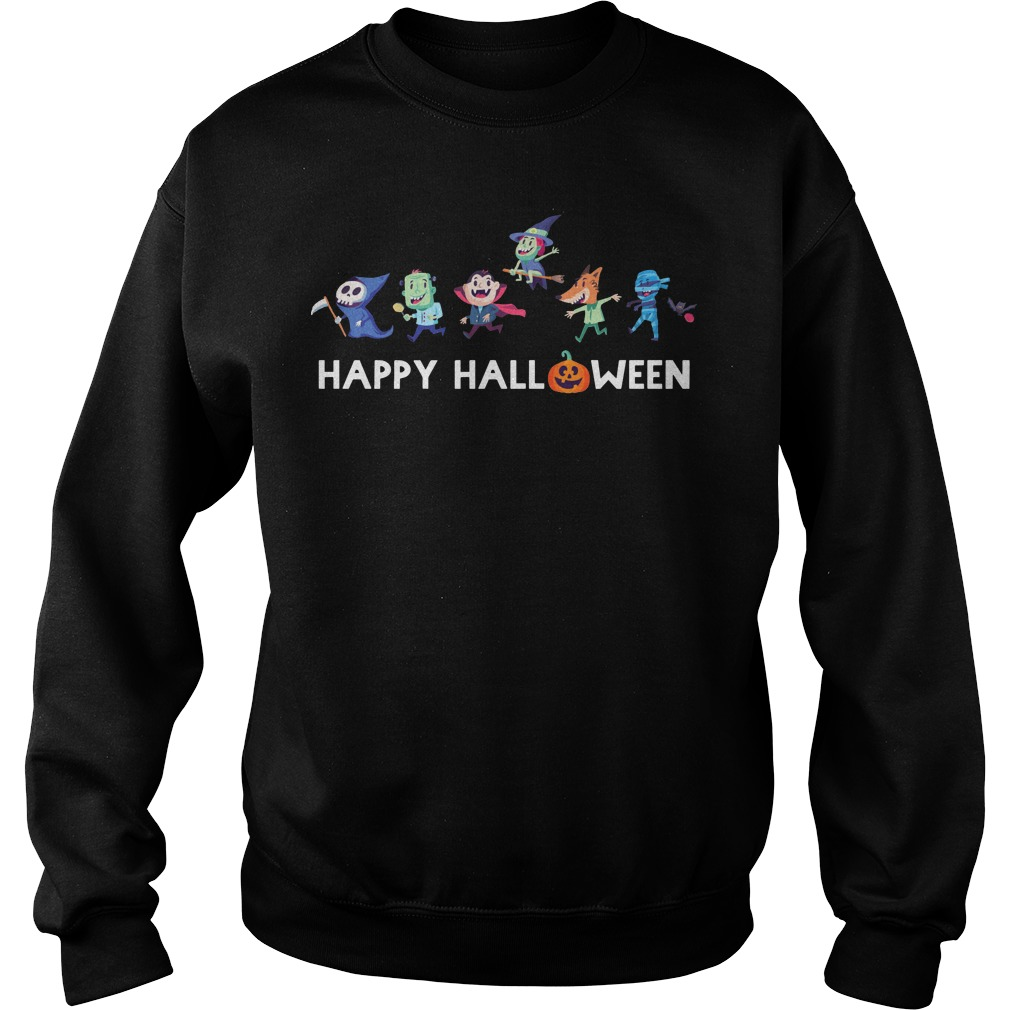 Trick or Treat Gang happy halloween shirt