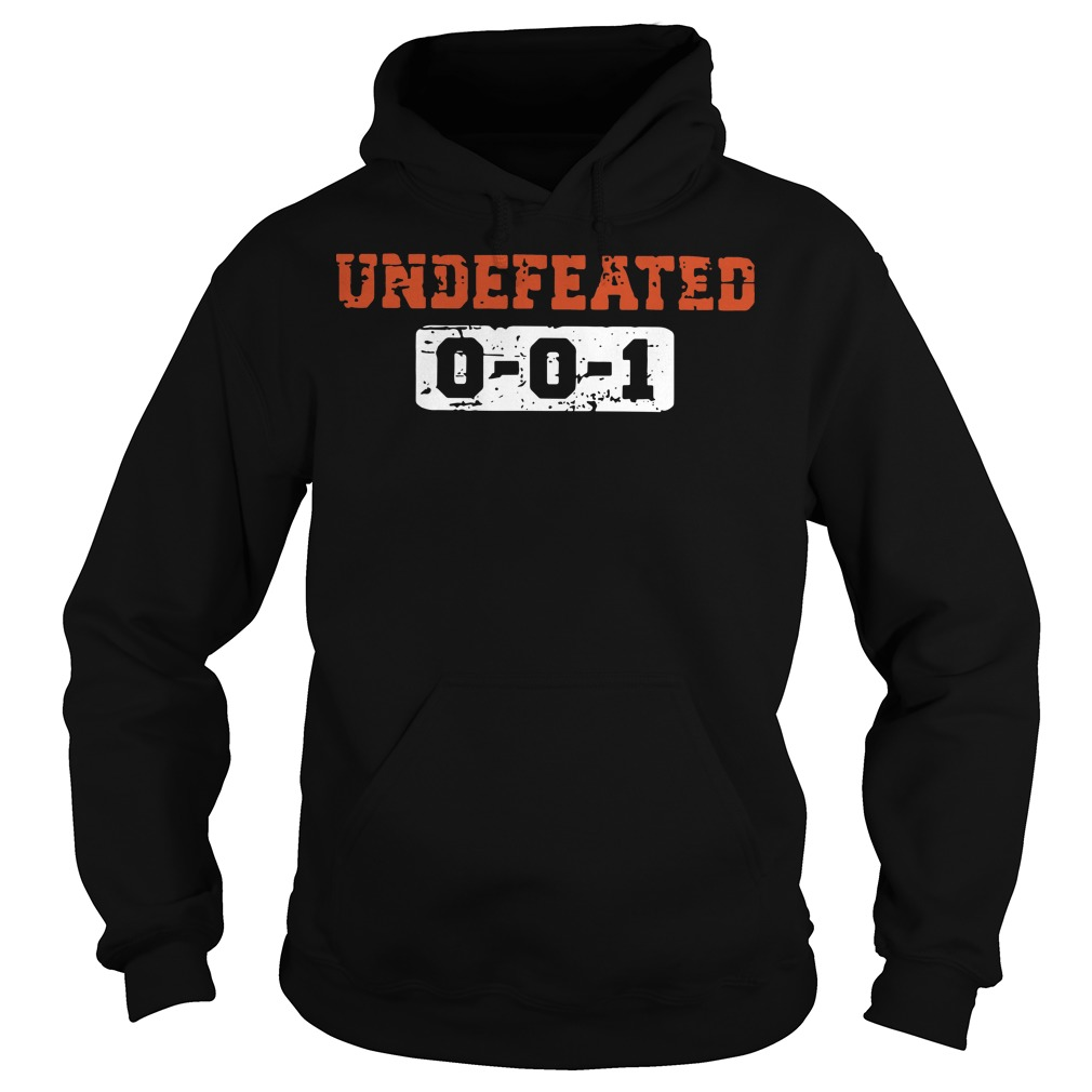 Undefeated 001 hoodie