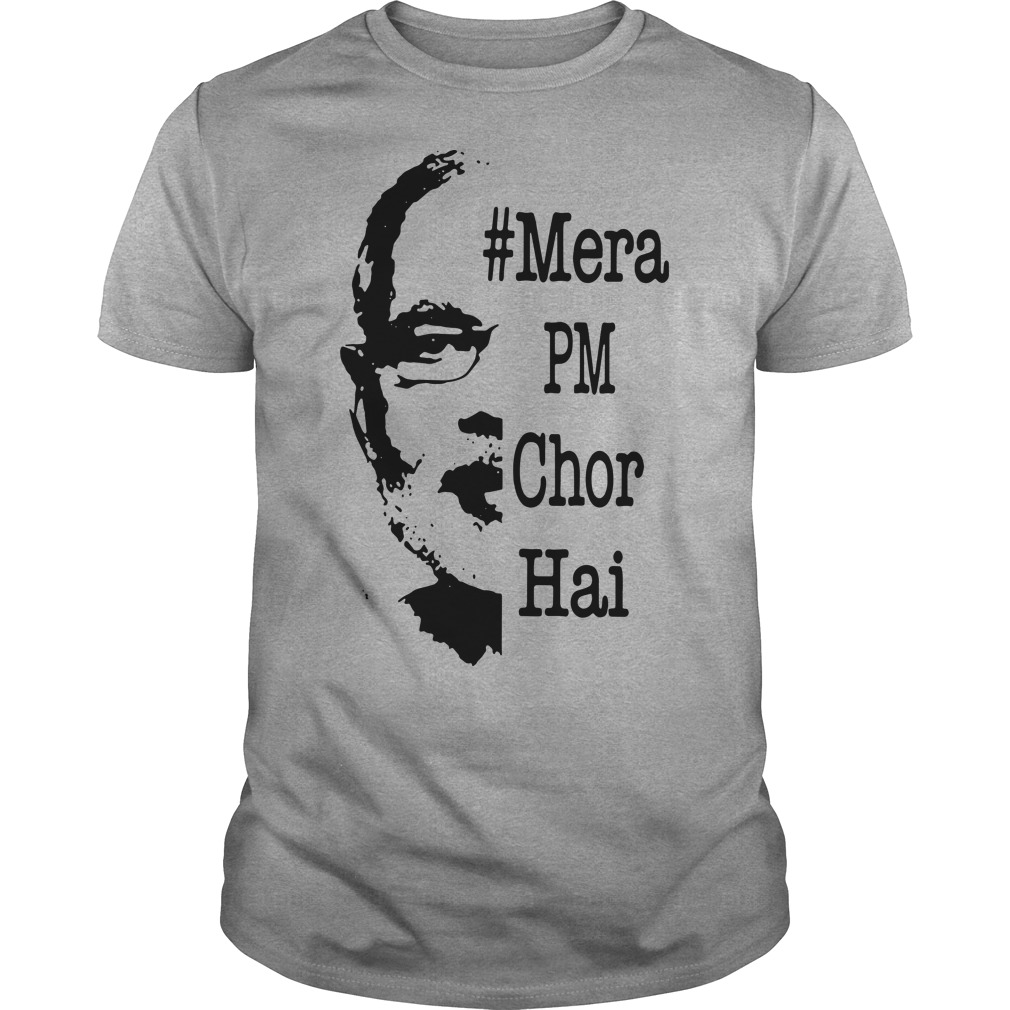 #Mera PM Chor Hai Guys t-shirt