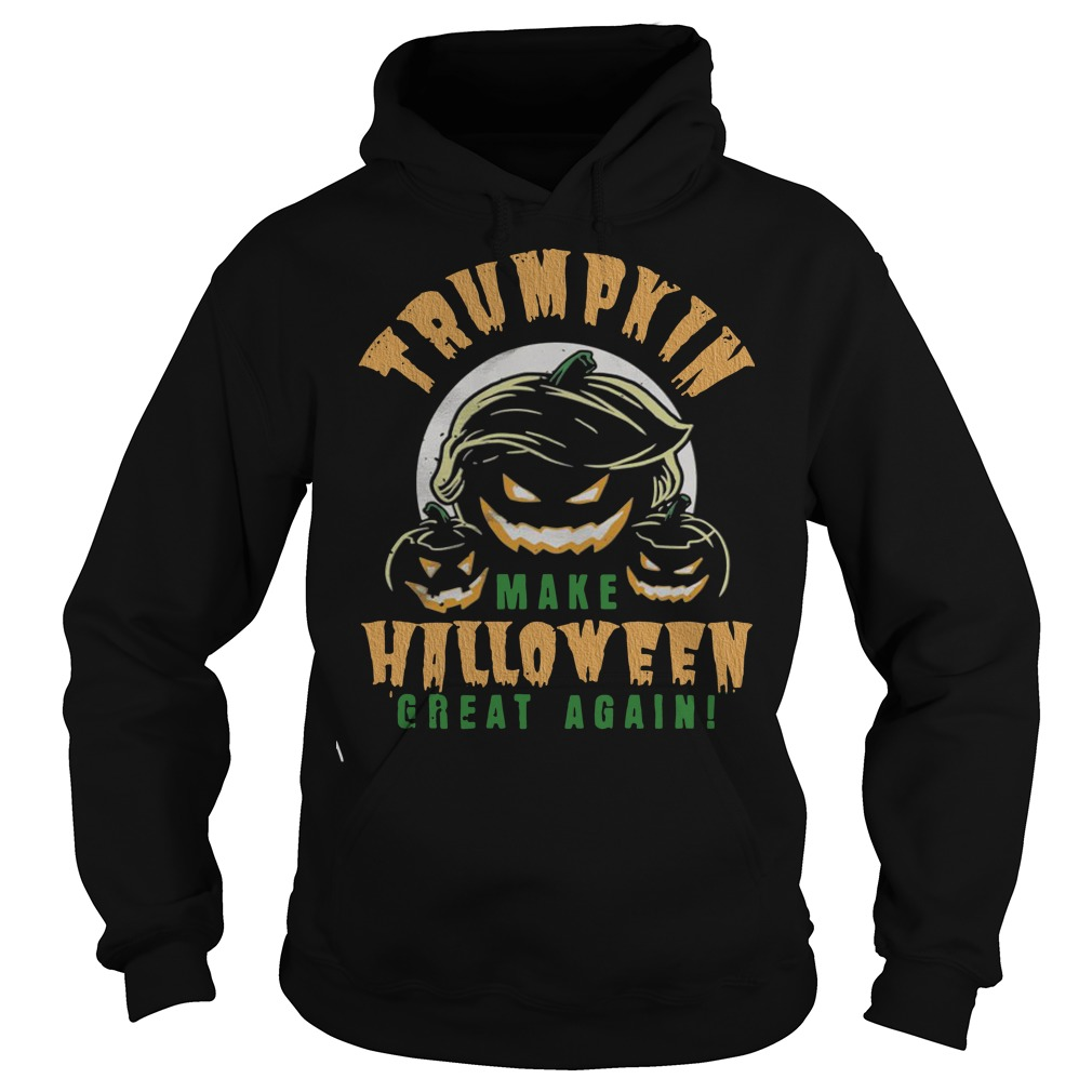 Official Trumpkin make Halloween great again Hoodie