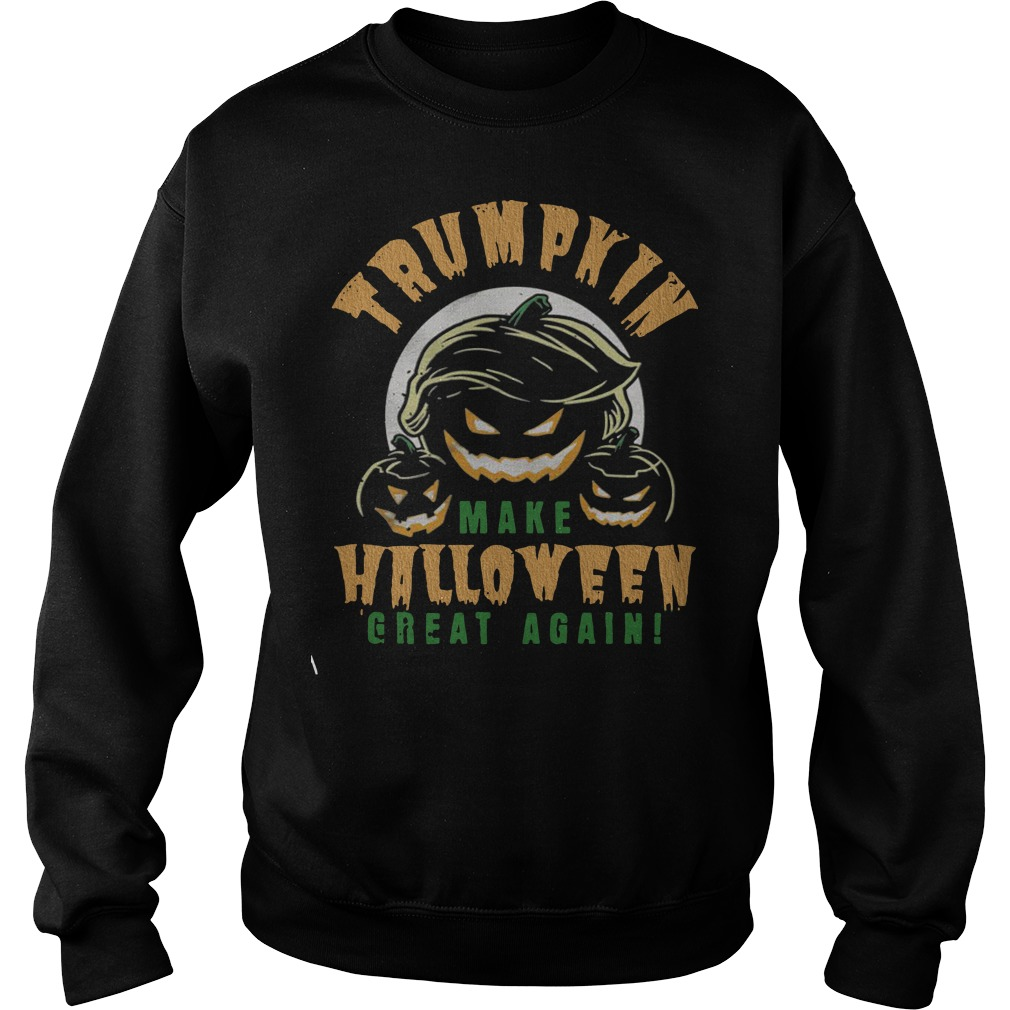 Official Trumpkin make Halloween great again Sweater
