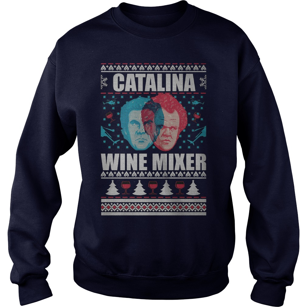 Catalina Wine Mixer ugly Christmas sweater