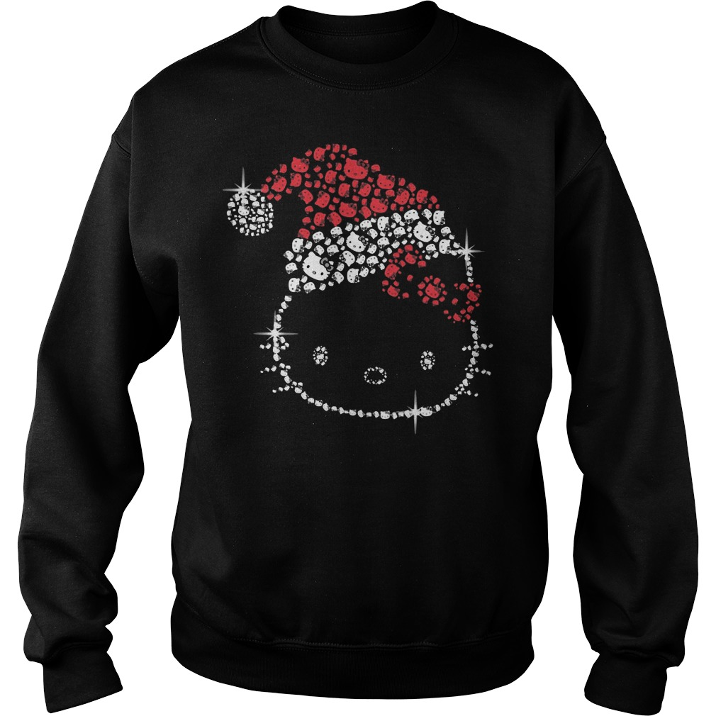 Hello Kitty rhinestone christmas Sweater
