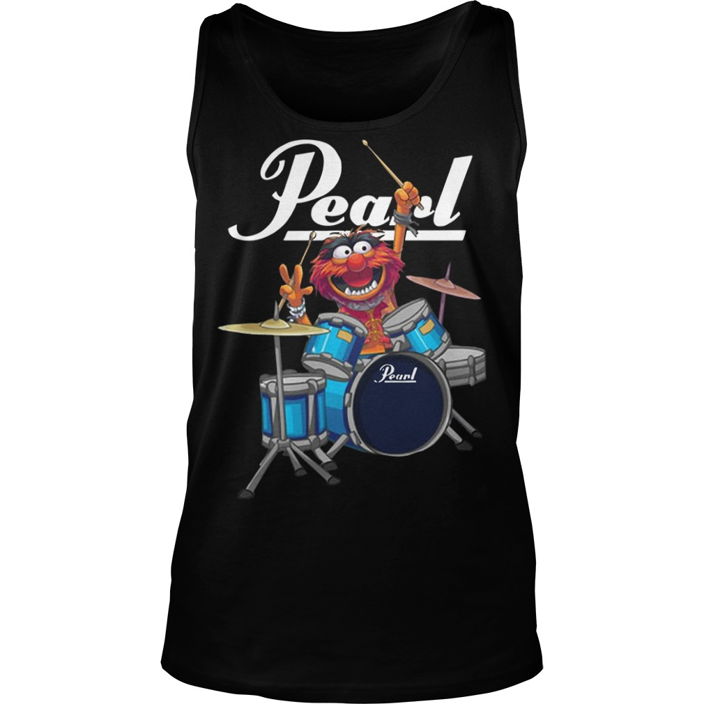 pearl animal muppet drums shirt hoodie tank top and sweater. Black Bedroom Furniture Sets. Home Design Ideas