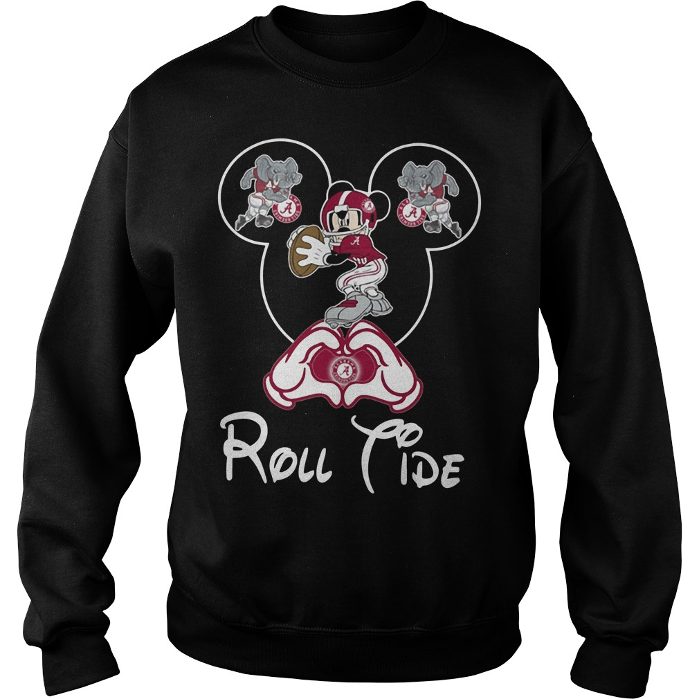 Mickey mouse alabama roll tide Sweater