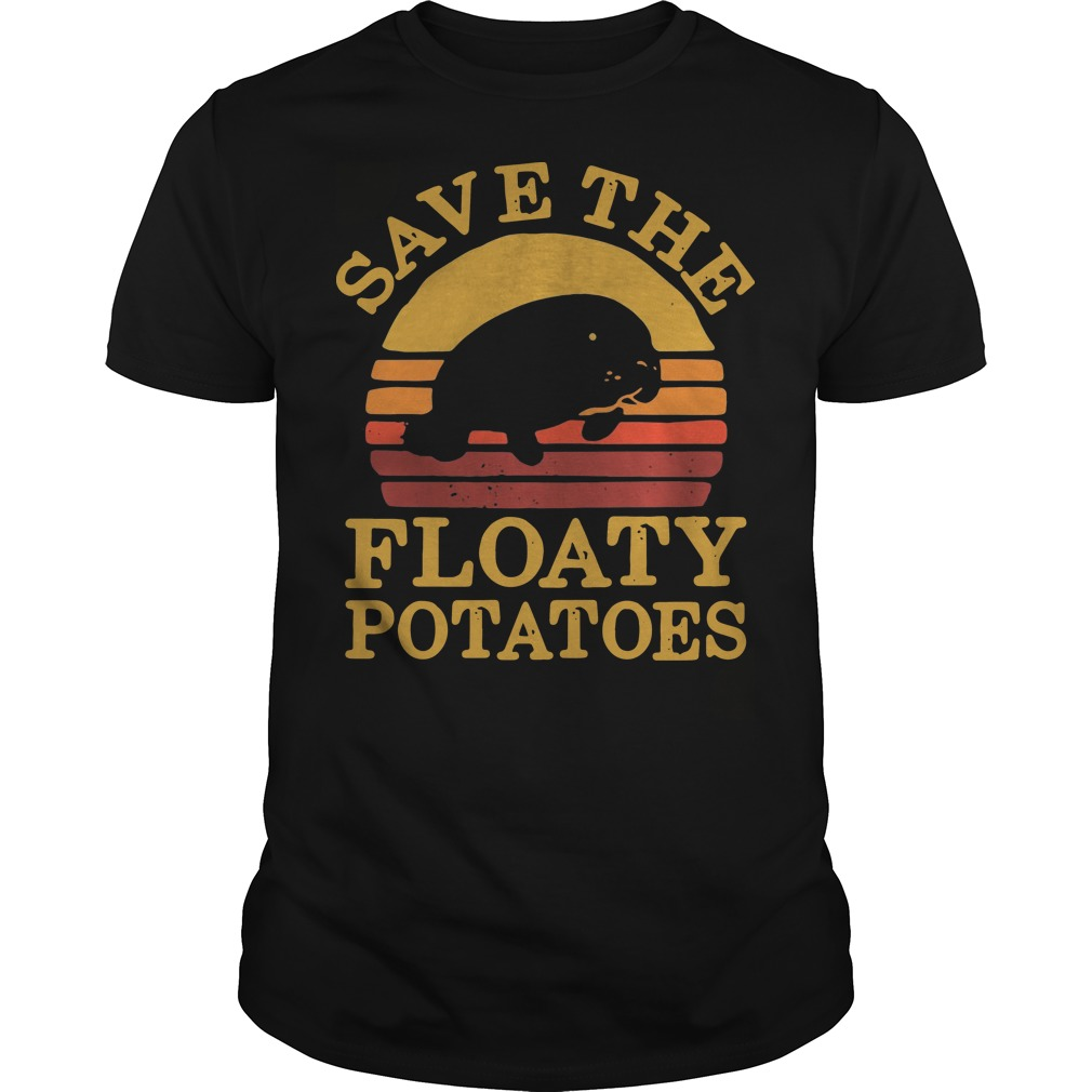 Save the eloaty potatoes vintage Guys t-shirt