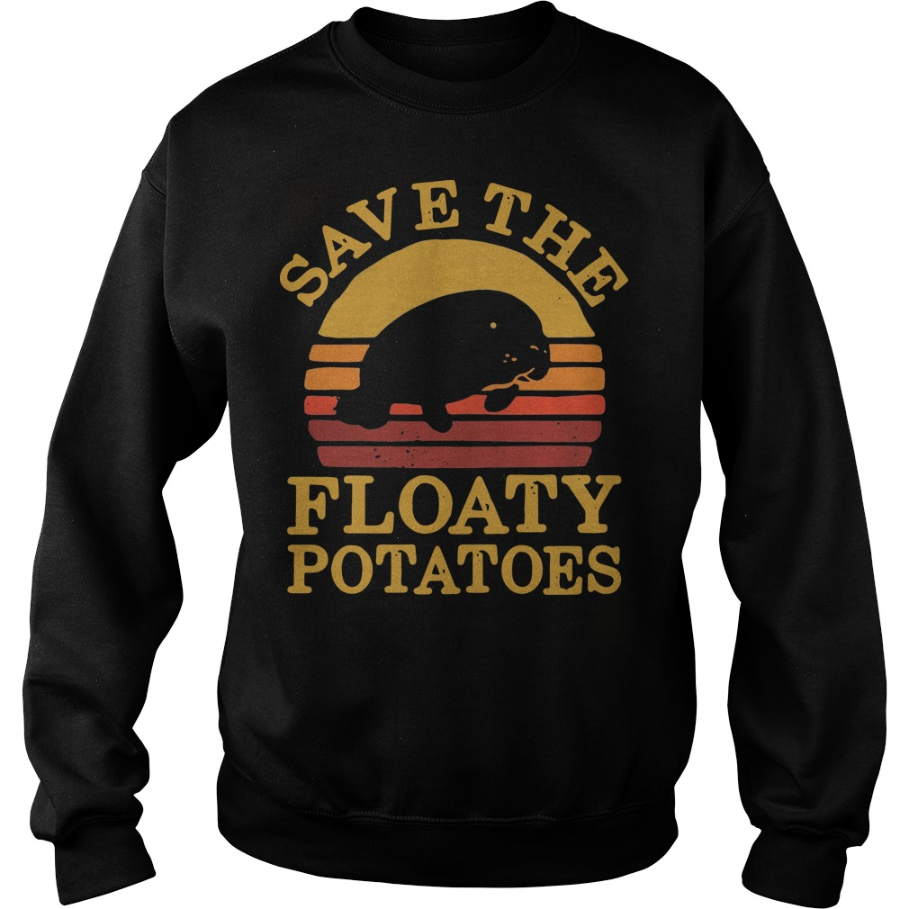 Save the eloaty potatoes vintage Sweater