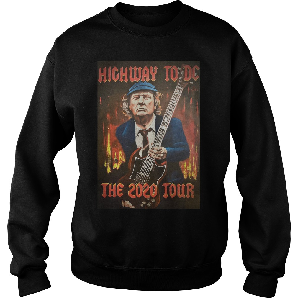 Trump highway to DC the 2020 tour Sweater