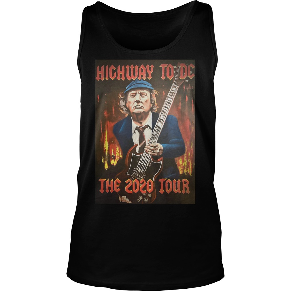 Trump highway to DC the 2020 tour Tank top