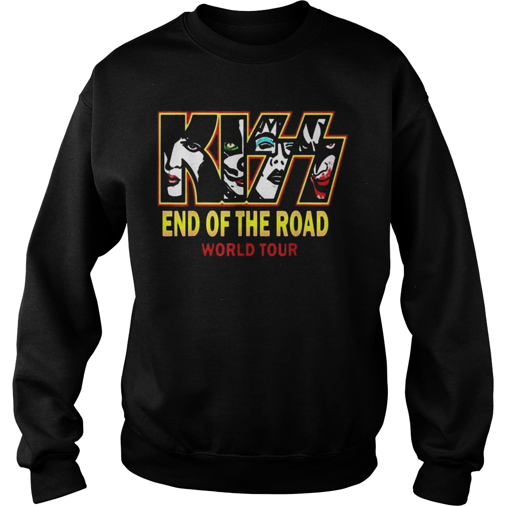 End Of The Year Kiss Road Tour 2019 Sweater