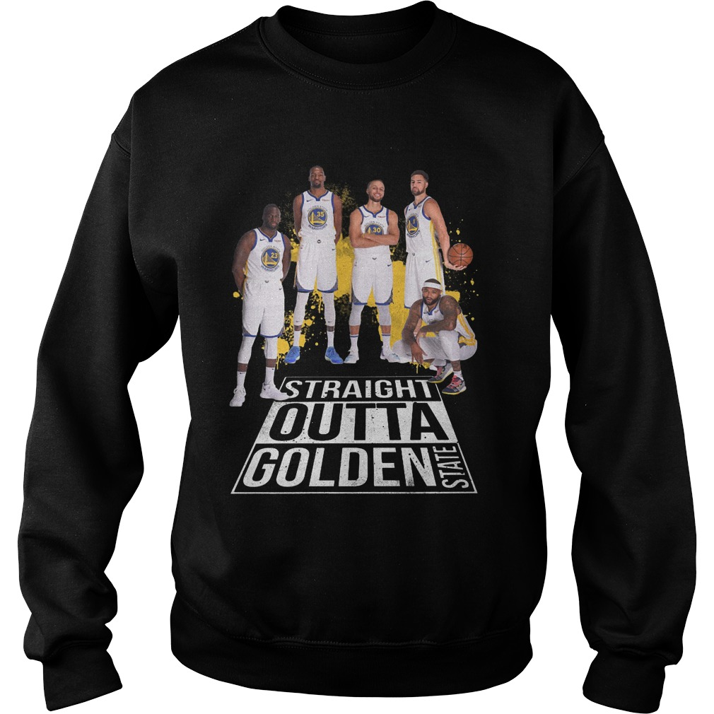 Straight outta golden state warriors Sweater