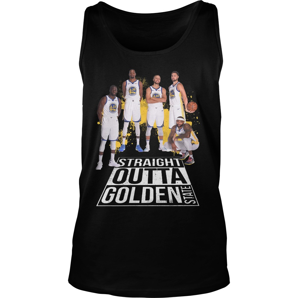 Straight outta golden state warriors Tank top