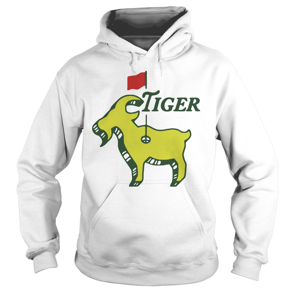 Tiger goat masters tiger woods good at golf Hoodie
