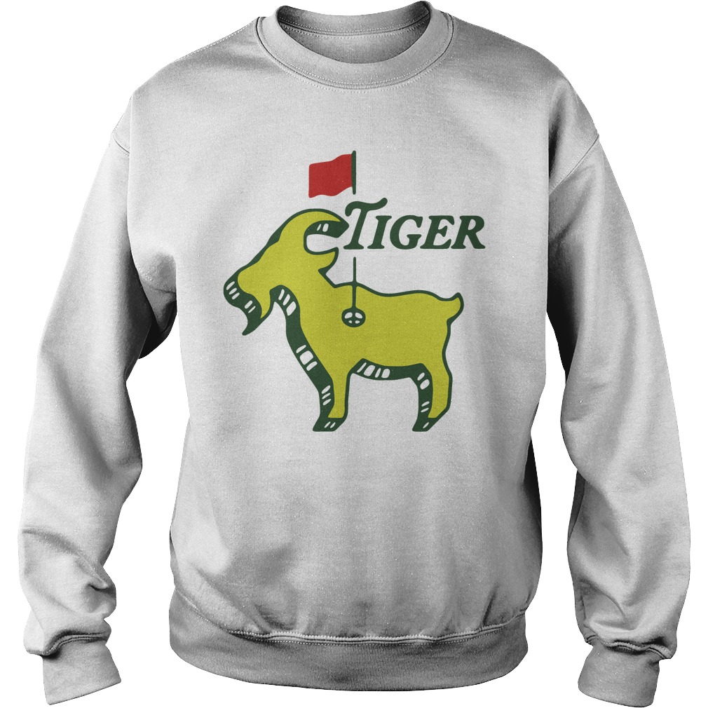Tiger goat masters tiger woods good at golf Sweater