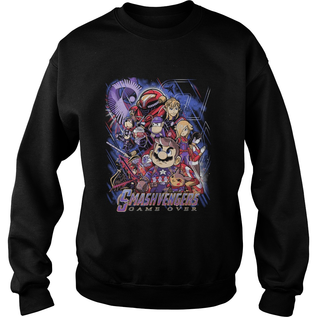 Smashvengers Game Over Sweater