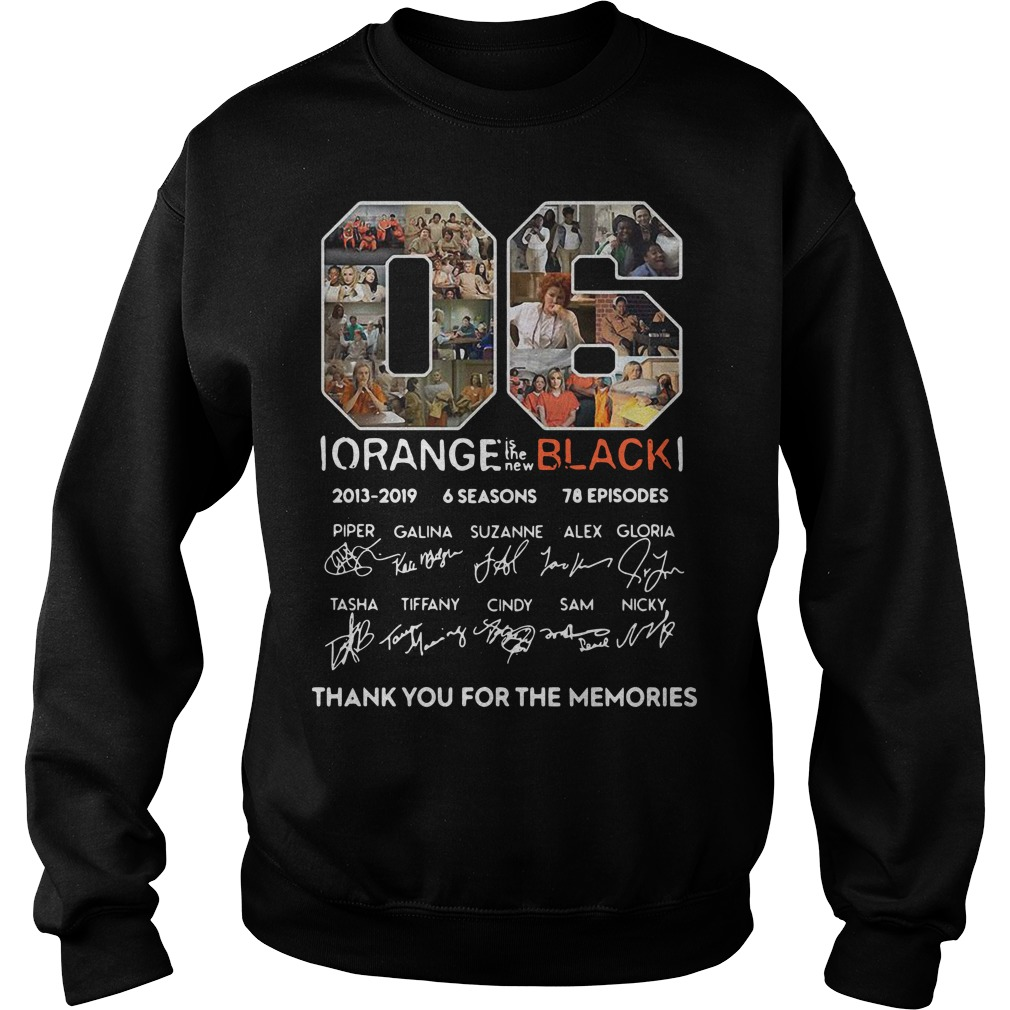 06 Orange is the new black 2013 2019 thank you for the memories Sweater