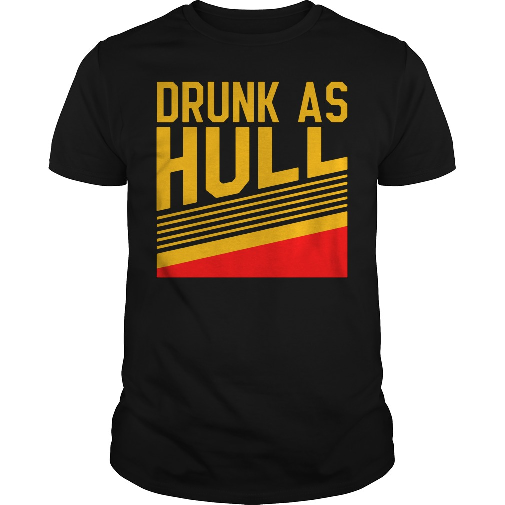 Brett Hull Drunk As Hull Guys t-shirt
