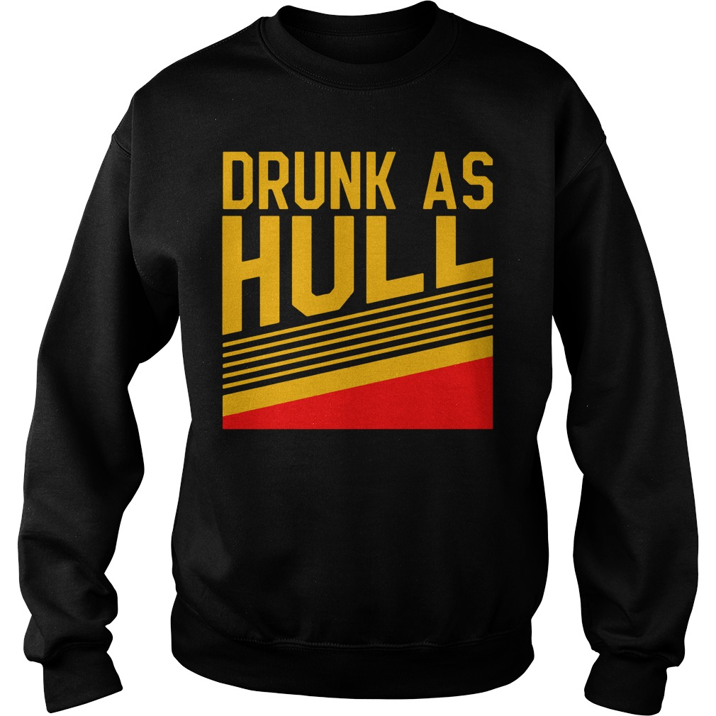 Brett Hull Drunk As Hull Sweater