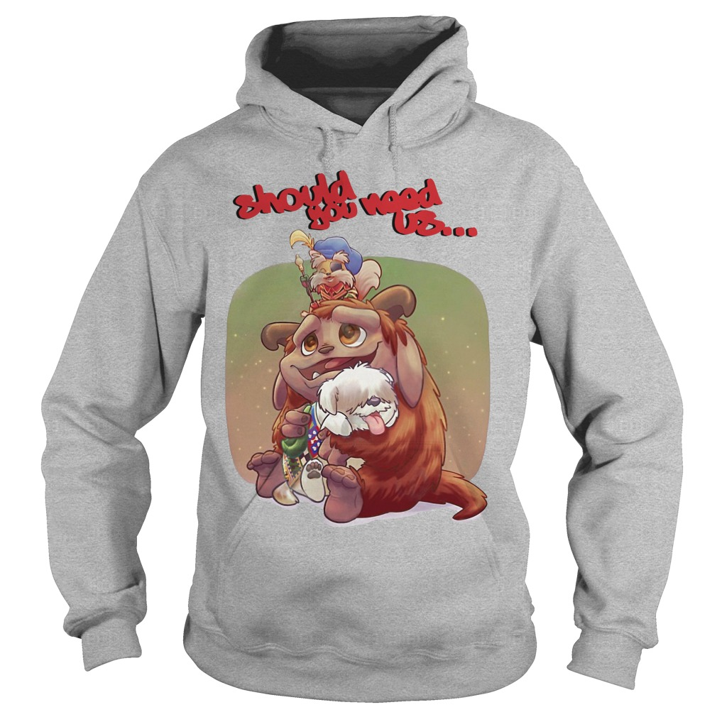 Should you need us Jim Henson's Labyrinth Tales Hoodie