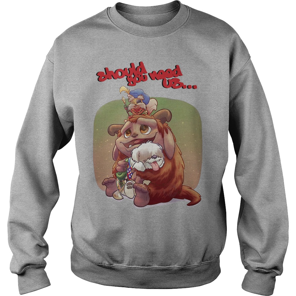 Should you need us Jim Henson's Labyrinth Tales Sweater