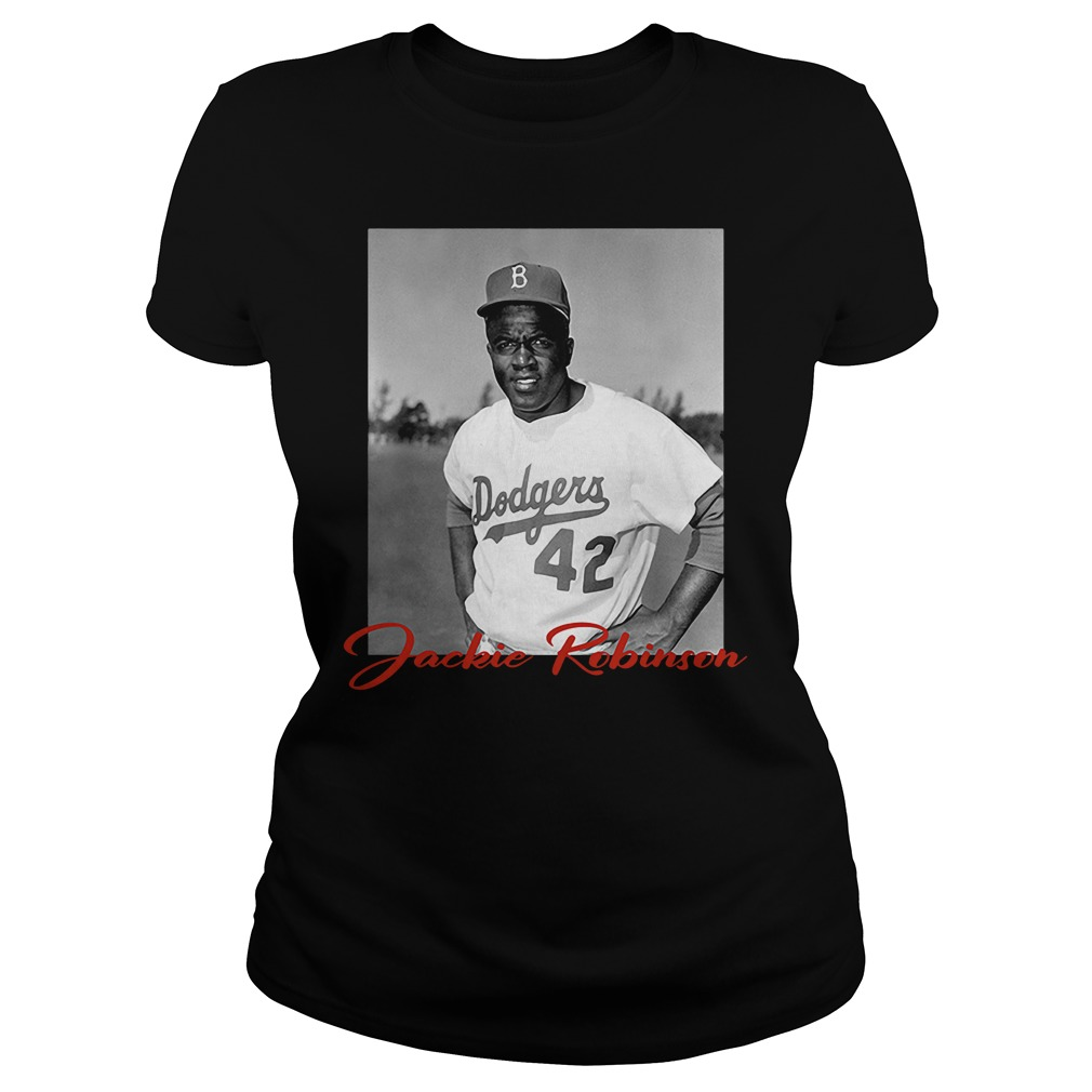 Yeen Beans Sticker Lough right in morning's face Allbluea Lebron James Jackie Robinson Ladies t-shirt
