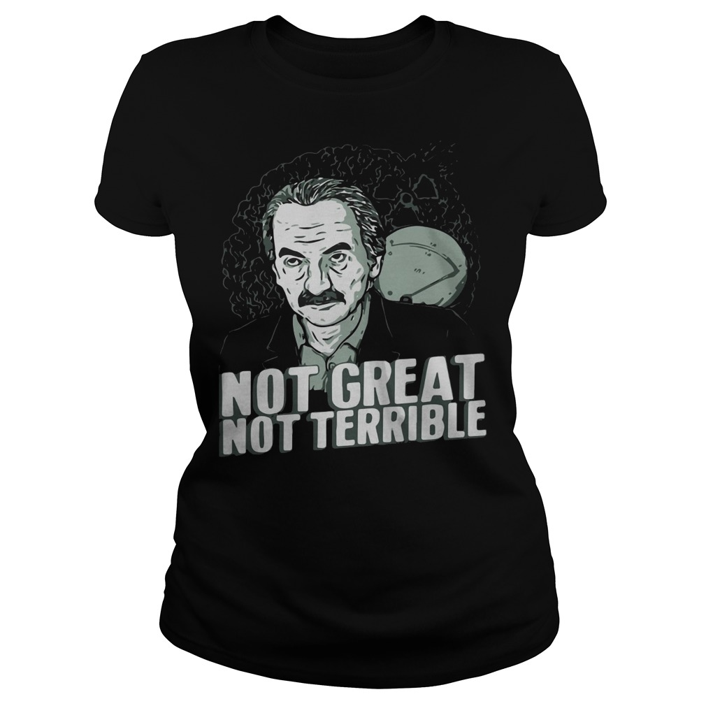Dyatlov disaster not great not terrible Ladies t-shirt