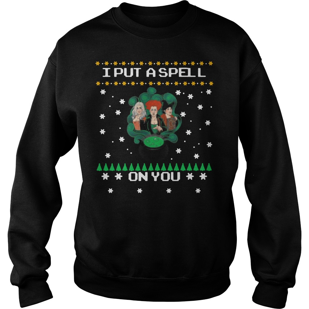Hocus pocus I put a spell on you Christmas Sweater