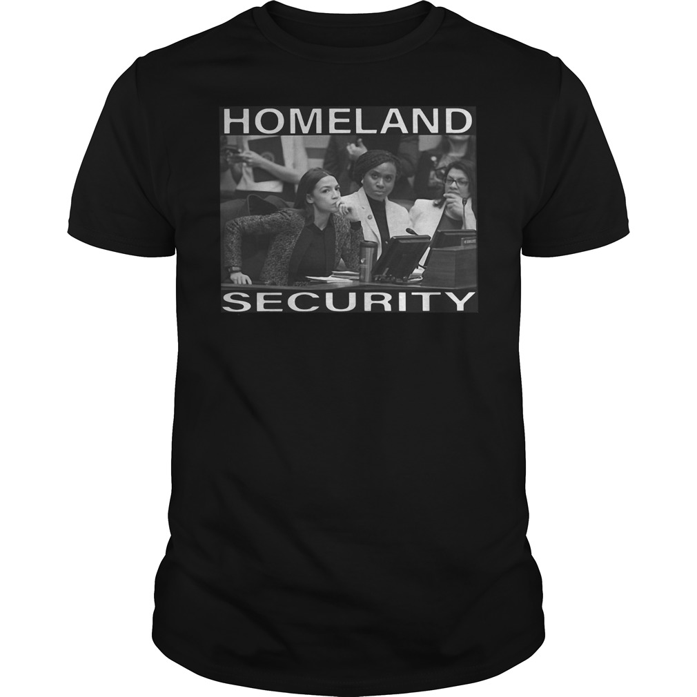 Squad homeland security Guys t-shirt