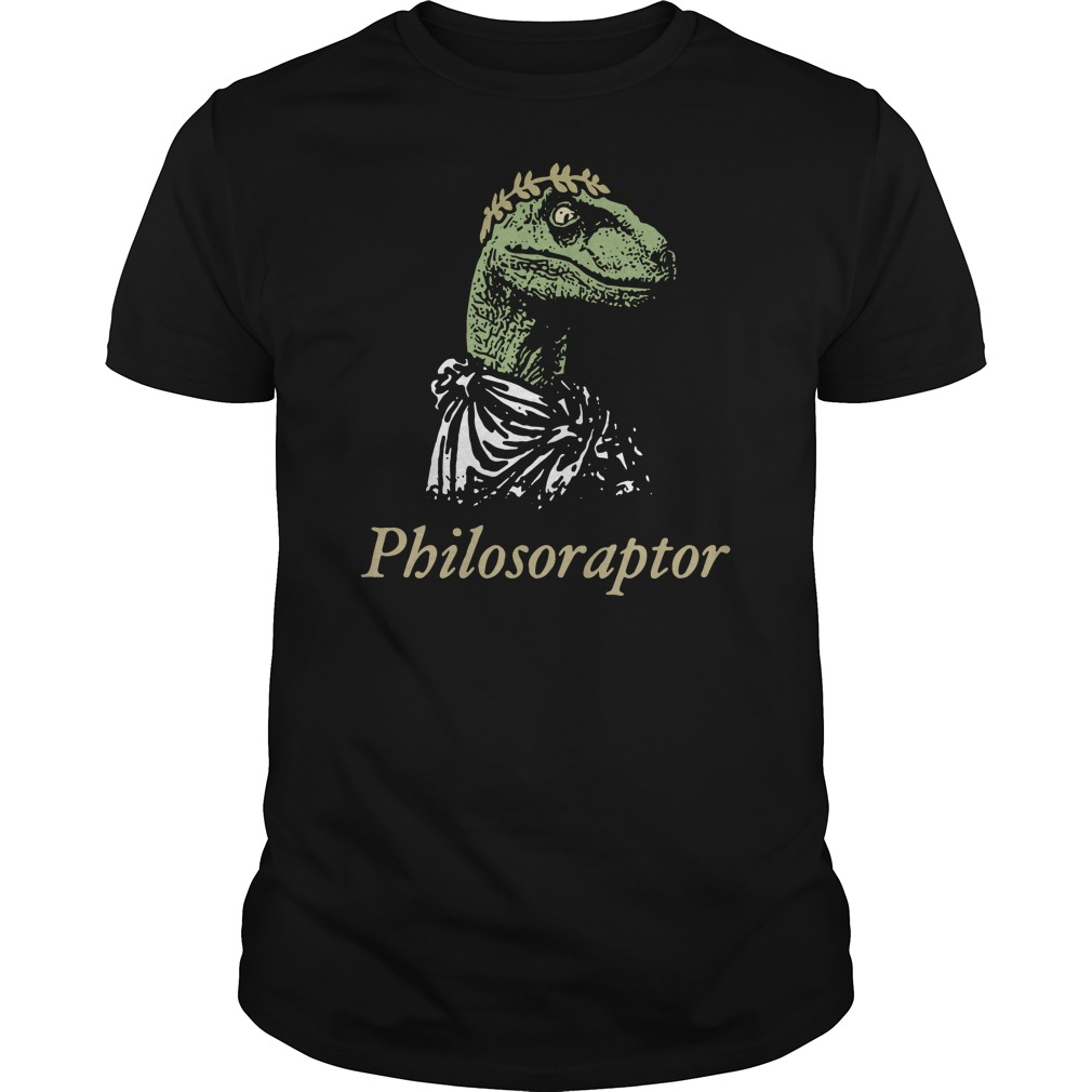 Philosoraptor Guys t-shirt