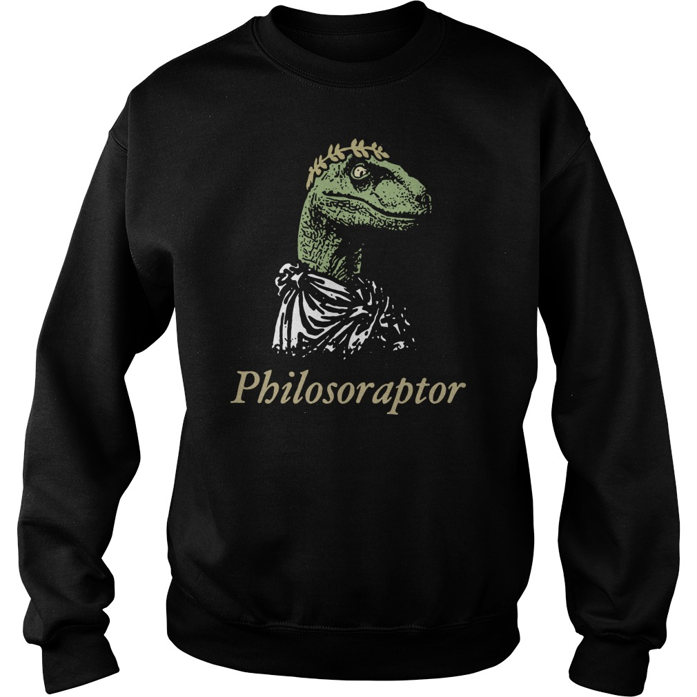 Philosoraptor Sweater