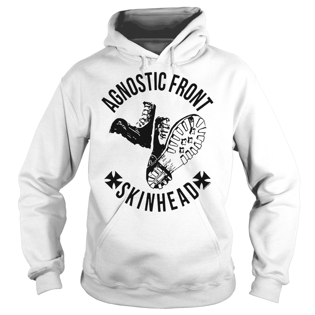 Agnostic front skinhead Hoodie