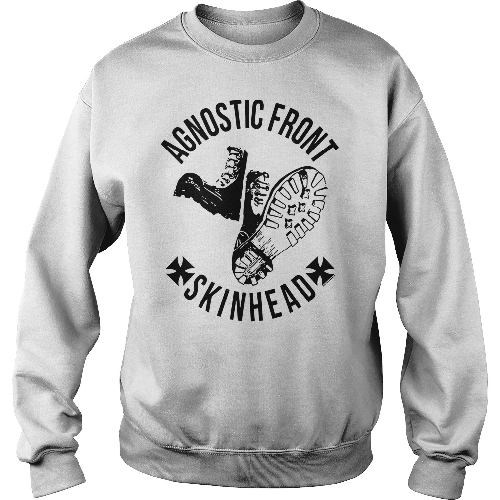 Agnostic front skinhead Sweater